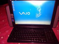 SONY VAIO ALL IN ONE PC COMPUTER, FAULTY KEYBOARD spares or repair pc
