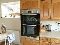 Bosch Double Oven. Model HBM13B150B. Less than 4 years old.