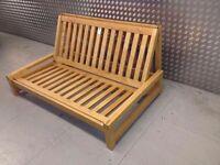 Genuine Futon Company solid birch wood sofabed frame