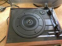 DERENS Stereo turntable / radio amplifier