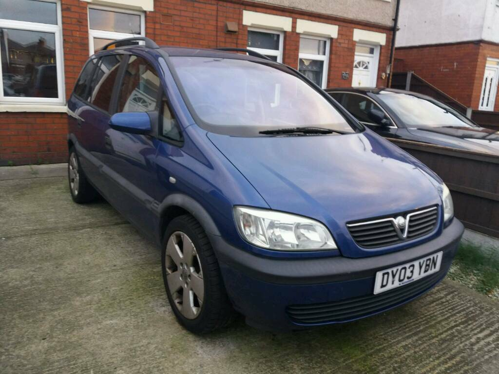 Zafira 1.8 petrol manual 6 month mot