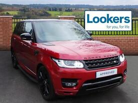 Land Rover Range Rover Sport SDV6 HSE DYNAMIC (red) 2014-01-06