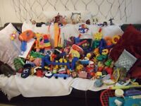 ANOTHER LARGE BOX OF MIXED TOYS