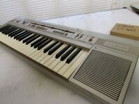 VINTAGE CASIO CASIOTONE CT-310 Keyboard Synthesizer/PIANO £20