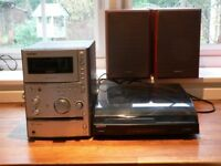 Sony Micro Hi-Fi System with turntable