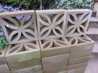 Unused Calafornian Walling Blocks Buyer to collect
