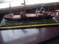 Kellys Coal Boat Annaghmore ( Belfast ) Model