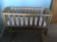 Mothercare Swinging Baby Crib