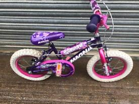 Xmas Gift, Megna Spellbound Childs Bike. Serviced. Free Lights & Local Delivery.