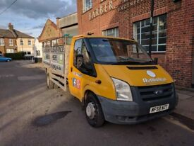 Ford Transit Tipper Van with 12 cubic yard cage / 4 months MOT 9 months TAX