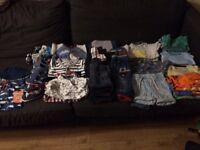 Baby boy clothes bundle - 6-9 months