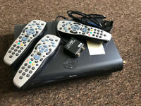 Sky+HD Box 2TB DRX895WL-C READ ADVERT IN FULL PLEASE COMPLETE WITH 3 REMOTES