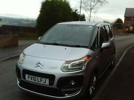 2010 CITROEN C3 PICASSO VTR + HDI 1.6 V8 GREAT CONDITION LOW MILEAGE