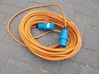 Caravan / Motorhome electric hook up cable 25 meters