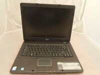 "ACER EXTENSA 5630EZ @ 2.10GHz 3GB RAM 80GB HDD DVDRW WIFI WINDOW 7 15.4"" SCREEN FAST LAPTOP"