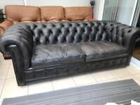 Chesterfield sofas x2