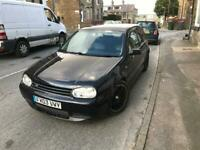 Volkswagen Golf 2.8 VR6 V6 2003 rare three door collectors appreciating car!!!