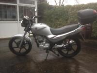 Sym xs 125 65 plate, low mileage, very good condition reduced to 850