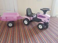 Pink Princess Tractor