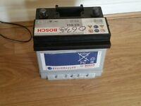 Brand new BOSH 41ah 12v car battery