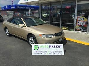 2000 Toyota Solara SE Convertible Well maintained!