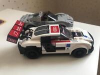 Lego speed racers. Porsche & Audi