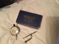 Vintage Mercer, St Albans, Dial Gauge