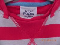 A bundle of preloved girls clothes and shoes