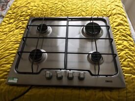 Zanussi Gas Hob brand new purchased with ex display kitchen from wickes. Not required