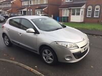 Renault Megane for sale, 2 prev owners, low milage, very good condition, tom tom