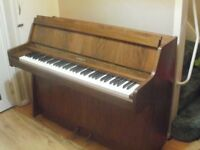 kemble piano small beautiful see photo's