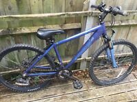 Ladies or teenagers blue Appolo Mountain bike bicycle from Halfords