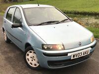 2003 Fiat punto 1.2 active
