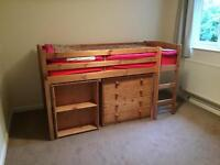 Single mid sleeper bed only without mattress