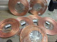 3/8 soft copper = 105m (7x15m roles)