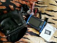 "7"" HD CCTV Security Camera Tester HDMI VGA UTP HVT-3600M Multimeter PTZ 10×Zoom"