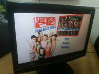22 inch Alba tv. Built in freeview. Built in DVD. HDMI