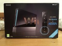Nintendo Wii Black - Boxed