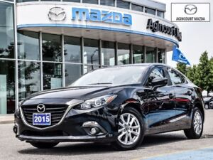 2015 Mazda Mazda3 GS-Sunroof, Heated Seats, Navigation, Bluetoot