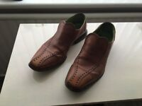 Oliver Sweeney Tan Mens Slip on Shoes