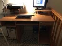 Desk computer student