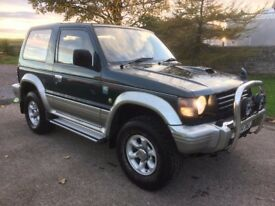 MITSUBISHI PAJERO 4WD AUTO DIESEL SWB ESTATE LONG MOT 132K BLUETOOTH NICE CONDITION PX WELCOME