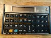 hp 12c financial calculator, working