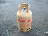 Flo Gas 'FULL' 13kg Butane gas bottle, can be delivered - (same as Calor blue bottle)