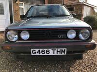 VW Mk2 Golf GTI 8v 1989 12 Months M.O.T