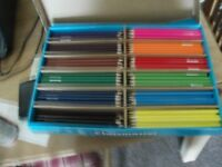 232 coloured pencils