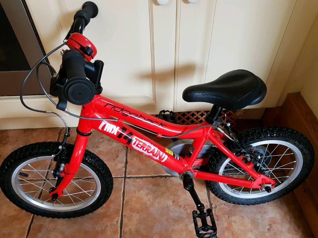 Ridgeback Mk14 children's bike