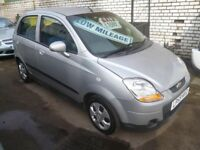 Chevrolet MATIZ SE,5 door hatchback,full MOT,Sports interior,runs and drives well,only 58,000 miles