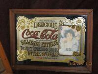 U.S. 5 cents Coca Cola pub mirror.
