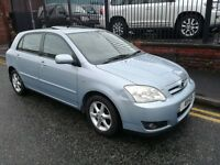 2006 Toyota Corolla 1.6 VVT-i T3 5dr Hatchback, Warranty & Breakdown Available, £1,495 p/x welcome